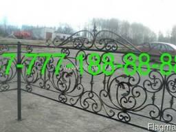 Оградки на могилу в Алматы, изготовление, установка - фото 5