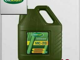 Oil right авиационное масло мс-20 10л
