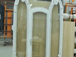 Окна деревянные 78-88 профиль сосна, лиственница, дуб.