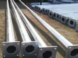 Опора граненная коническая 3 метров (ОПОРЫ ОГК- 3 метра) - фото 1