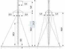 Опоры ВЛ 35-110 кВ ЭЛСИ удобно использовать при строительств