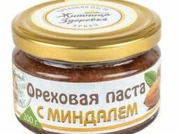 Ореховая паста с миндалём 200 г (Житница Здоровья)