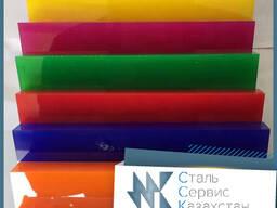 Оргстекло цветное люминофор 3х1500х1700 мм ТОСП ГОСТ 17622-7