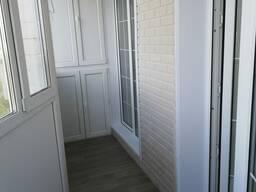 Отделка балкона под ключ. Низкие цены.
