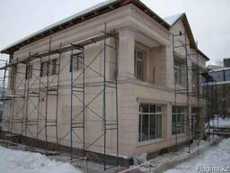 Отделка и реставрация фасадов травентин гранит алкан алюкаб
