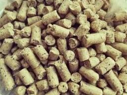 Отруби пшеничные, кормосмесь гранулированные