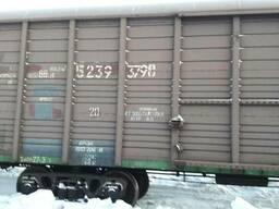 Отруби пшеничные на вагоне с ст. Кустанай мешки по 20 кг