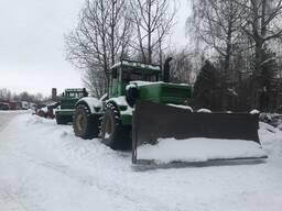 Отвал для снега на трактор