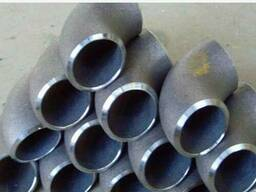 Отвод цельнотянутый стальной крутозагнутый