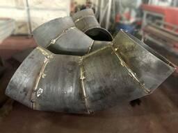 Отводы стальные под заказ секционные секторные (сегментные)угол в 30°, 45°, 60° и 90°