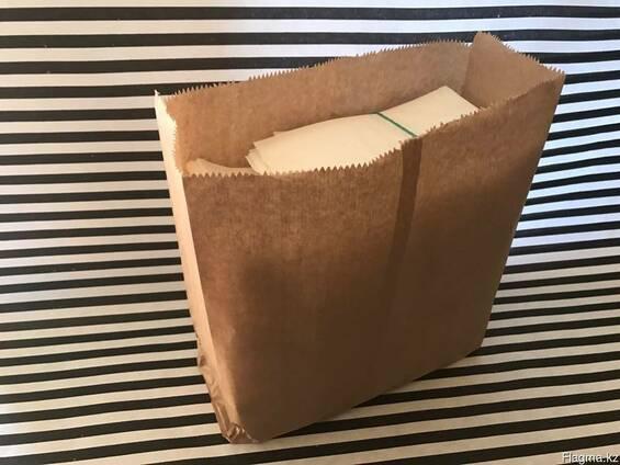 """Пакет из пищевой бумаги """"С собой"""""""