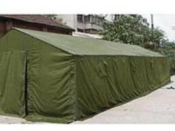 Палатка брезентовая армейская 3х10