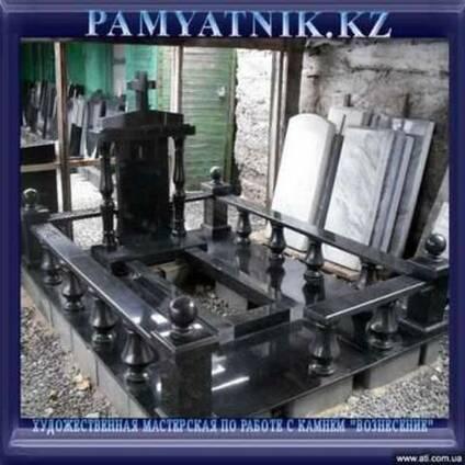 Памятники гранитные Казахстан.Надгробия из гранита и мрамора