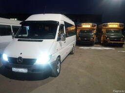Пассажирские перевозки, аренда микроавтобуса Mercedes спринт