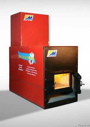 Печь - инсинератор для утилизации отходов