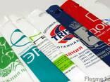 Печать лого и рекламы на пакетах - фото 1