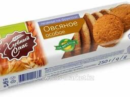 Печенье сдобное на фр.Особое овсяное 250г