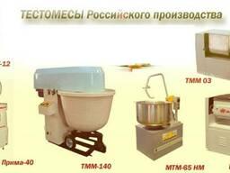 Пекарня производительностью 500 кг/см. (72 бул./час).