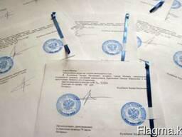 Перевод аттестата и паспортов.