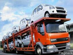 Перевозка автомобилей автовозами.