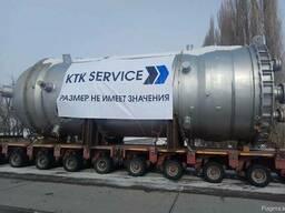 Перевозка негабаритного груза по Казахстану