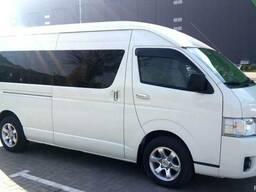 Перевозка пассажиров на микроавтобусах