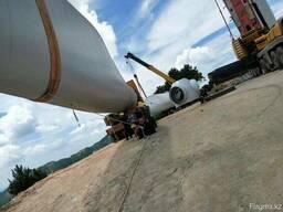 Перевозка ветровых генераторов, негабаритных грузов Китай