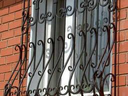 Перила кованые для лестниц и балконов. Ворота и решетки.
