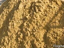 Песок для строительства разного вида