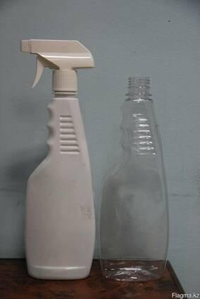 ПЭТ бутылка 0,5 - 0,75л. под средство для мытья стёкл
