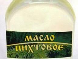 Пихтовое масло, 100% натуральное