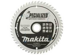 Пильный диск для ламината, 165x20x1. 0x52T (для аккум. инстр. )
