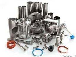Пищевая арматура. AISI304, нержавеющая сталь.