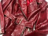 Питоновая куртка - фото 8