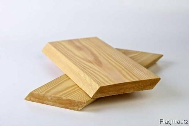 Планкен скошенный из сибирской лиственницы