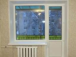 Пластиковое окно глухое балконный блок (кирпичный дом) - фото 5