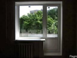 Пластиковое окно глухое балконный блок (кирпичный дом) - фото 8