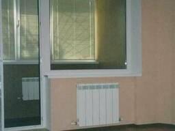 Пластиковое окно глухое балконный блок (панельный дом) - фото 4
