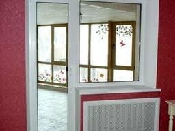Пластиковое окно глухое балконный блок (панельный дом) - фото 7