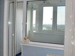 Пластиковое окно глухое балконный блок (панельный дом) - фото 8