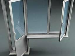 Пластиковые окна, двери и витражи в Астане