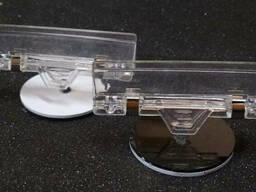 Пластиковые подставки, холдеры. ценникодержатели, визитницы - фото 5