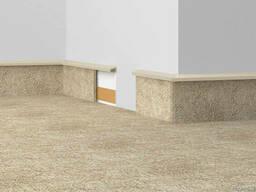 Плинтус для ковролина, ковровой плитки
