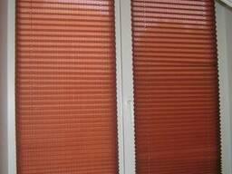 Плиссе, жалюзи, рулонные и римские шторы