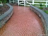 Плитка тротуарная Веерный пласт - фото 2