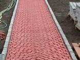 Плитка тротуарная Веерный пласт - фото 4