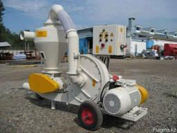 Пневмоперегружатель зерна передвижной ПЗП-6-15