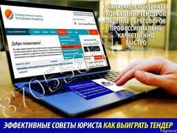 Подготовка документов на тендер Алматы. Помощь по тендерам