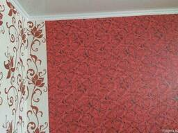 Поклейка обои Покраска стен Стаж