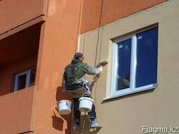 Покраска зданий, сооружений и металлоконструкций